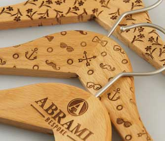 laser engraving wooden clothes pins